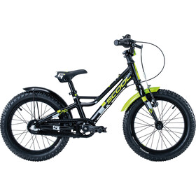s'cool faXe 16 3-S alloy Kinder schwarz